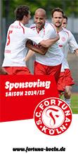 Fortuna Köln Sponsoring Broschüre