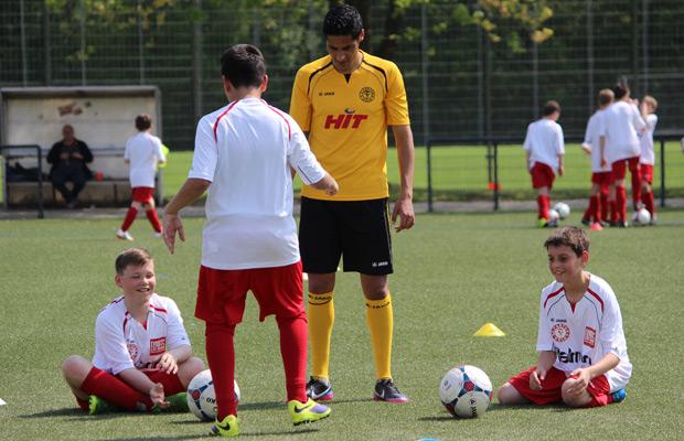 Fortuna Beim Fussball Camp Fortuna Koln
