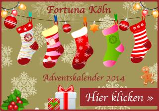 Fortuna Köln Adventkalender