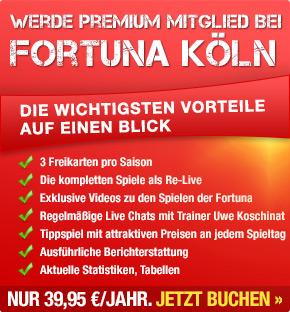 Fortuna Premium - Die wichtigsten Vorteile auf einen Blick